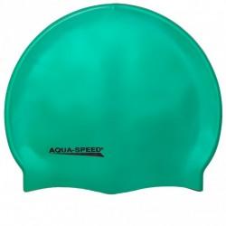 Aqua-speed Mega silikona peldcepure