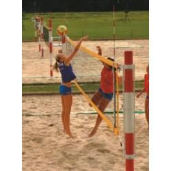 Pokorny Beach econom pludmales volejbola tīkls