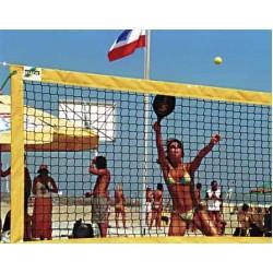 Huck pludmales tenisa sacensību tīkls