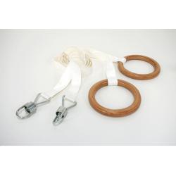 SportSystem Vingrošanas riņķi ar neilona virvēm