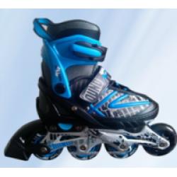 Sportera Action Blue bērnu regulējamās skrituļslidas, ledus slidas