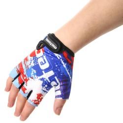 Meteor Map Kids gloves bērnu velo cimdi