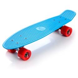 Meteor Blue/ red penny board skrituļdēlis