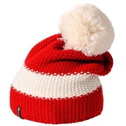 Meteor red/ white ziemas cepure