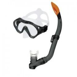 Spokey CAYMAN JUNIOR (meln.) 81269  snorkelēšanas komplekts