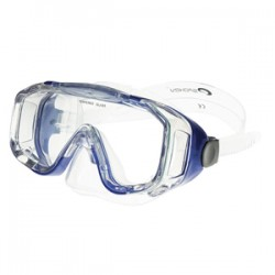 Spokey PALMYRA (zila) 833384  peldēšanas maska