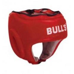 Bulls dabīgās ādas boksa ķivere