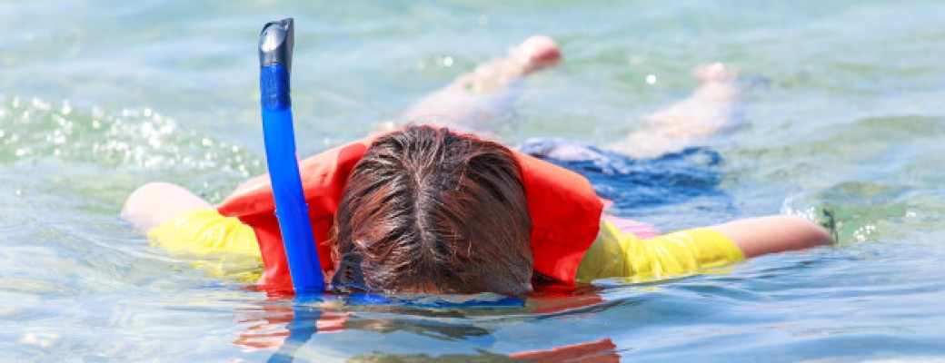 Snorkelēšanas trubiņas