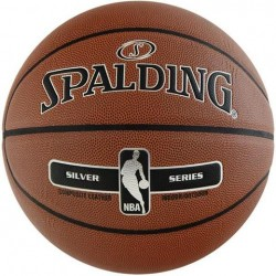 Spalding NBA Silver indoor-outdoor basketbola bumba