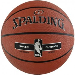 Spalding NBA Silver Outdoor 6 basketbola bumba