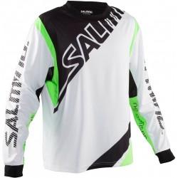Salming Phoenix Goalie JSY Jr florbola vārtsarga krekls (1146534-0766)
