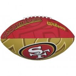 Wilson  NFL TEAM LOGO SAN FRANCISCO 49ERS Junior amerikāņu futbola bumba