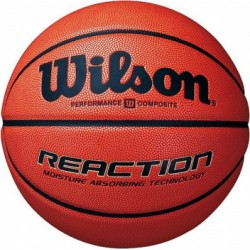 Wilson REACTION INDOOR-OUTDOOR GAME BALL basketbola bumba #7