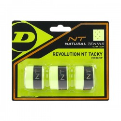 Dunlop NT TACKY with copper wires, 3pcs yellow tinums