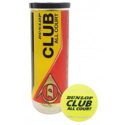 Dunlop Training CLUB ALL COURT 3-tube tenisa bumbas
