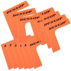 Tennis court corners  Dunlop 1 pcs., orange