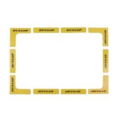 Dunlop lines, yellow, 12 pcs tenisa līnijas