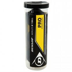 Dunlop PRO 3-tube PSA/WSA official skvoša bumbiņas