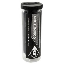 Dunlop COMPETITION 3 ball tube skvoša bumbiņas