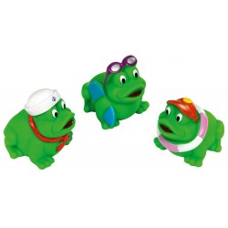 Bath squirters FASHY FUNNY FROGS 1641 3pcs
