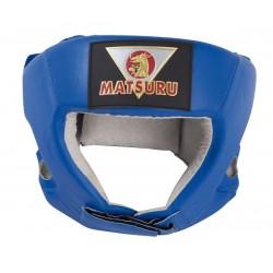 Matsuru Boxing headguard PU S blue boksa ķivere