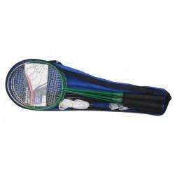 Happy Green Badmintona komplekts 4 personām