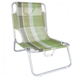 4Holidays Pludmales krēsliņš, saliekams 50x59x64cm