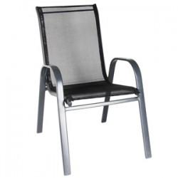 4Holidays Dārza krēsls 54x68x93cm, pelēks