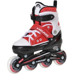 Head Jr Red Adjustable Inline Skates regulējamas bērnu skrituļslidas (H4JR12)