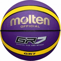 Molten BGR7-VY basketbola bumba, purple/yellow