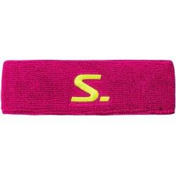 Salming Knitted Headband Pink florbola spēlētāja galvas apsējs (1187859-5151)