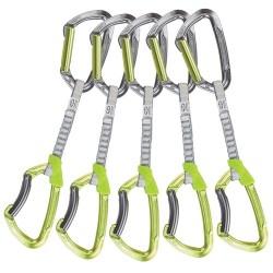 Climbing Technology Atsaišu komplekts Lime set DY 5 pack