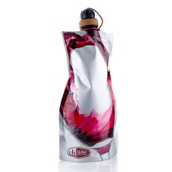 GSI Outdoors Mīkstā pudele Soft Sided Wine Carafe- 750 ml