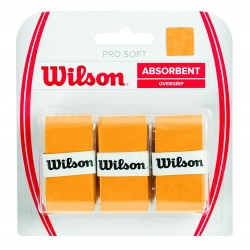Wilson PRO SOFT OVERGRIP gold Grips tinums