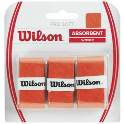Wilson PRO SOFT OVERGRIP orange Grips tinums