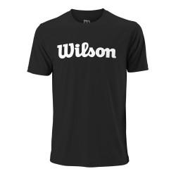 Wilson M T-SHIRT UW SCRIPT TECH TEE T- krekls