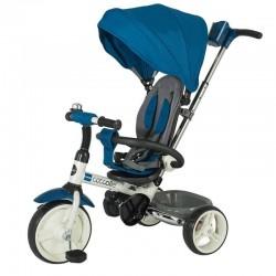 Trīsritenis/ bērnu ratiņi 2in1 Coccolle Urbio (Zils)