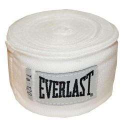 Boksa saites Everlast Pro Style 3m (baltas)