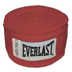 Boksa saites Everlast Pro Style 3m (raudonas)