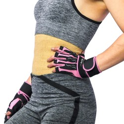 Elastic Waist Support Belt Lana Medicale Dark Grey M