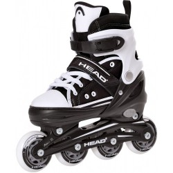 Head Jr Black Adjustable Inline Skates regulējamas bērnu skrituļslidas (H4JR13)