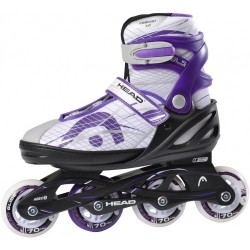 Head Jr Lilac Adjustable Inline Skates regulējamas bērnu skrituļslidas (H6JR07)