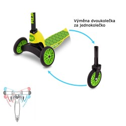 Children's Tri Scooter Fizz Flip Mini Evo Croc