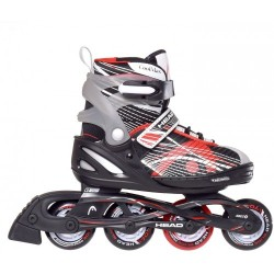 Head Jr Red Adjustable Inline Skates regulējamas bērnu skrituļslidas (H6JR06)